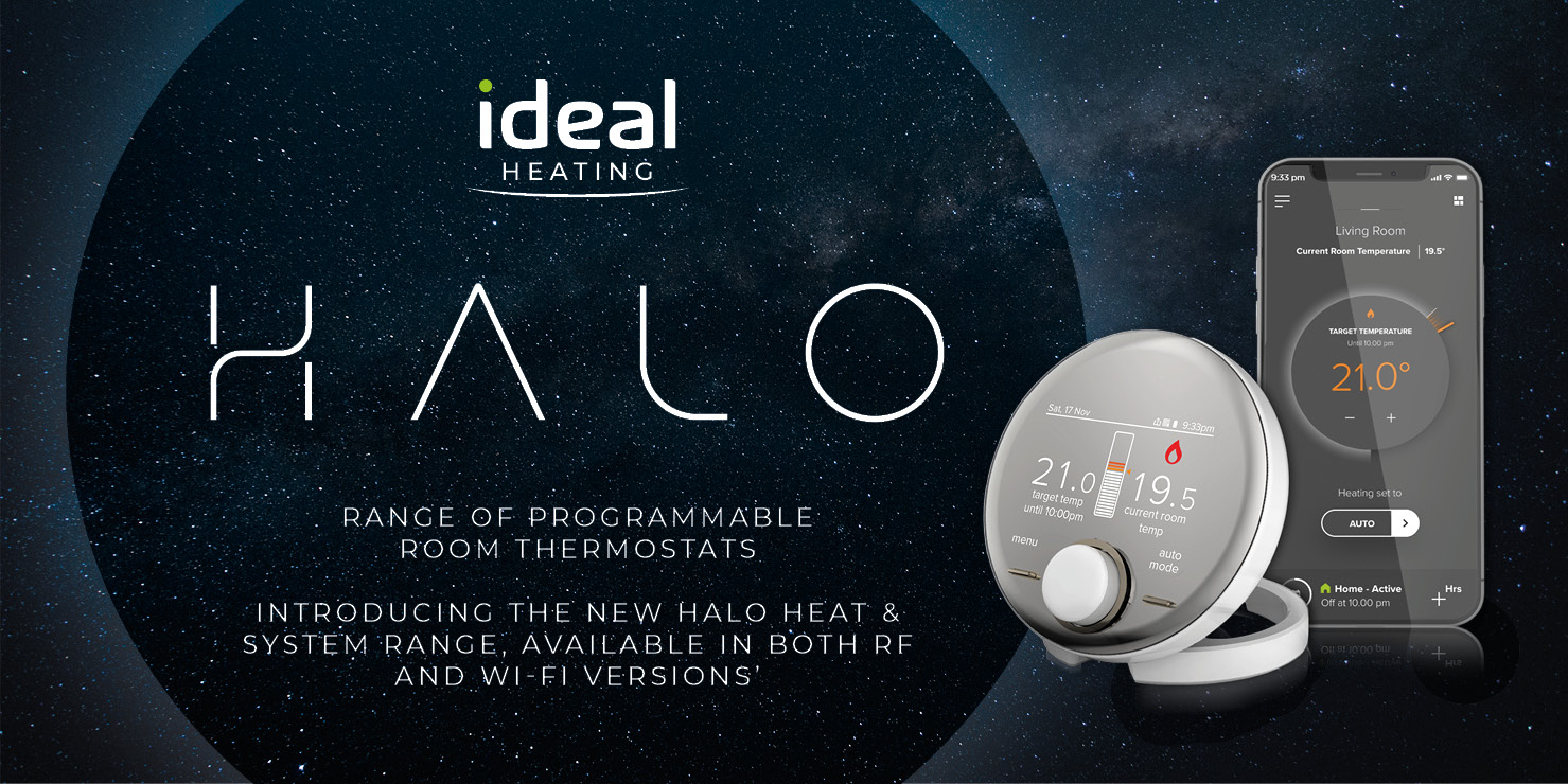 Popular - Ideal Heating launches Halo Heat & System to complete controls range