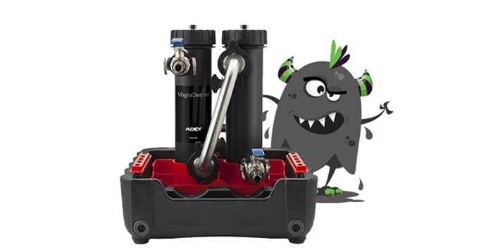 Popular - ADEY sludge monster takeover will highlight water quality message at InstallerSHOW