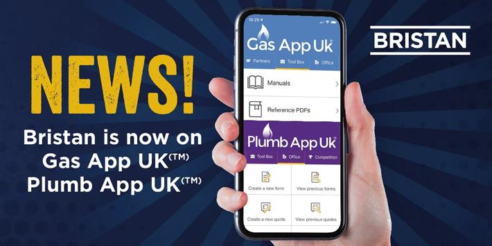 Popular - Bristan announces partnership with Plumb App UK® and Gas App UK®