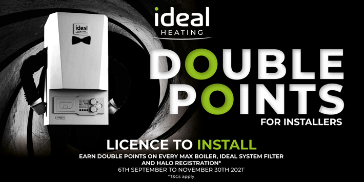 Popular - Ideal Heating launches double points promotion with Installer Connect