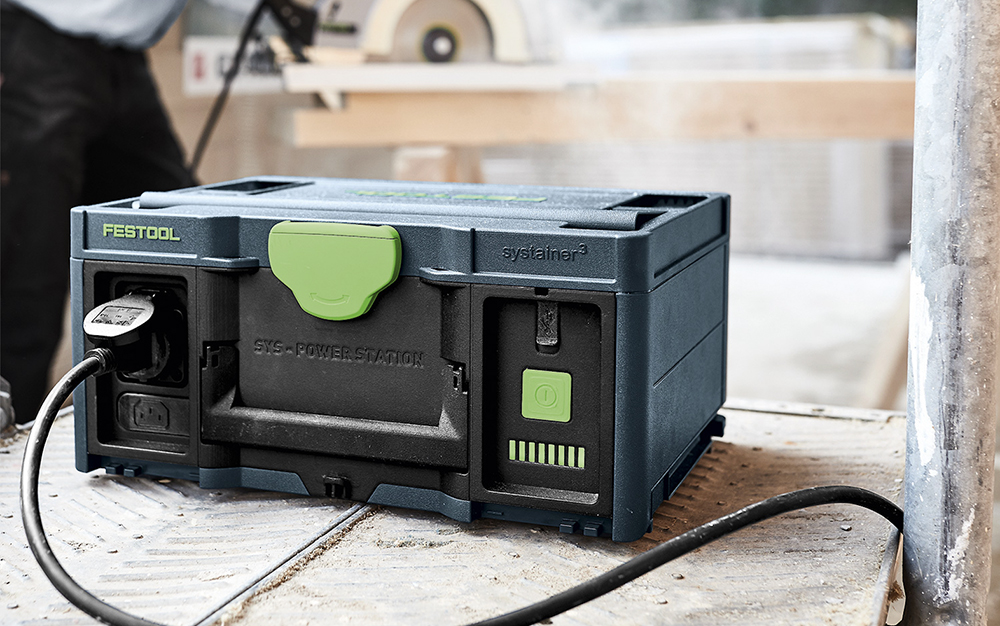 Popular - Festool SYS-PST Power Station launched